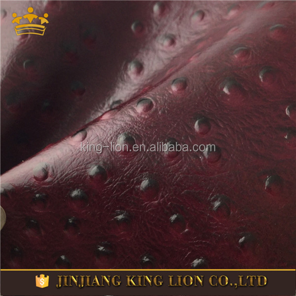 Calf Skin Embossed Leather Fabric,Leather Handbags Material