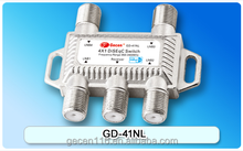 Gecen DiSEqC 2.0 4 in 1 out DiSEqC Switch 4 in 1