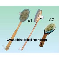 wooden bath brush,bath brush,cleaning brush