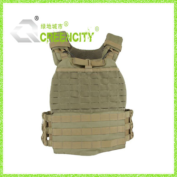 500 Denier Military Armor Vests Molle Tactical Body Plate Carrier