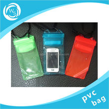 plastic garbage bags in roll red