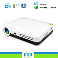 Mini projector with Android 3D pico LED projector multiple inputs including USB VGA HDMI and micro SD