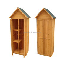 Easily-assenbled Wooden Storage Shed Garden Tool House
