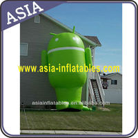 Inflatable mobile phone software replica for ads