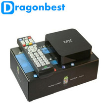 DragonbestHot selling Android 4.2 TV BOX GBOX Midnight MX2 XBMC TV BOX Dual Core MX Android Smart TV BOX