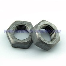 Galvanized Hex High Tension Jam Nut