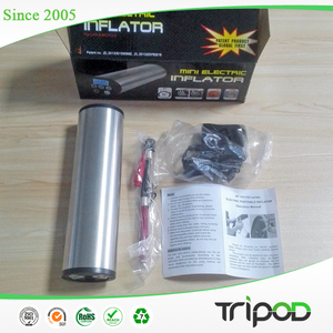 Tripod tailored designed mini electric tire and airbag inflator