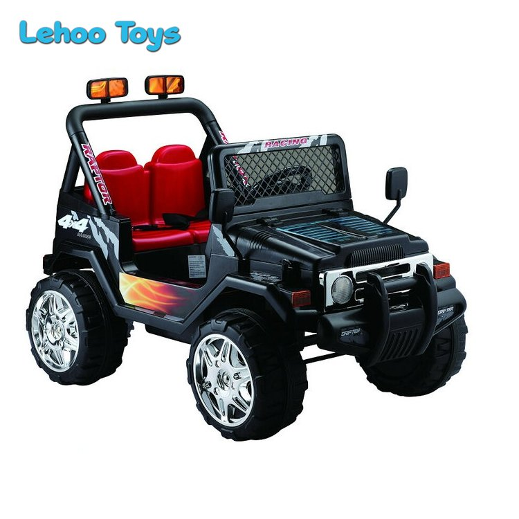 Electric 12V Ride On Jeep RC Ride On Car with Double Motor and Battery for kids