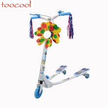 TK07 3 Wheel Hand Brake Kids Kick Scooter Folding Children Kick Scooter