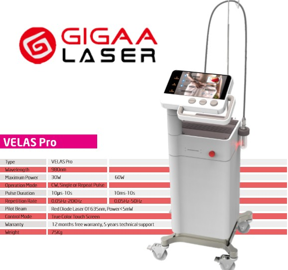 Gynecology laser cooperate with Colposcopy and Laparoscopic for gynecology surgery
