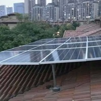 Green Energy Customized Rooftop 3200W Solar