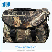 camo digital camera bag for men hunting or outdoor sports