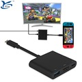 New HD TV Adapter Type C Hub converter for Nintendo Switch/Samsung S8/Macbook