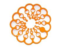 PH-001 magic enlarge het resistant silicone foldding trivet