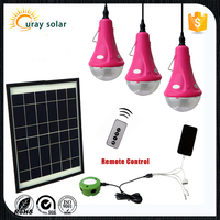 high power energy saving customized portable 6w 9w 12w solar system for home