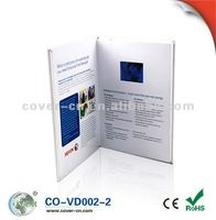 LCD Video greeting Card For Advertisement/Customizable video card