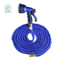 Cloth Watering Hose High Pressure Rubber Hose 50ft Expanding Hose