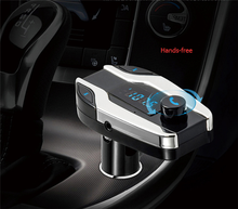 Promotional Bluetooth Car Stereo Handsfree Call + TF Card MP3 Player + FM Transmitter USB Car Charger Kit