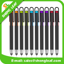 Hot sell custom logo super thin touchscreen crystal usb stylus pens