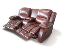 Foshan made lazy boy leather recliner sofa