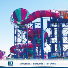 Used Water Slides For Sale, Tantrum Alley Slide For Water Park Project