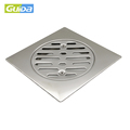 Middle east Asia Stainless steel drain cover bathroom floor drainer