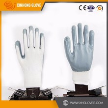 Full coated three dipping import nitrile heavy duty working gloves with High Qualityliner, made in China