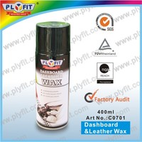 dashboard spray wax car polish