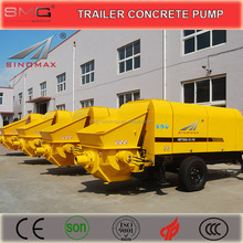 HOT Sale! 60m3/h Diesel Engine Trailer Concrete Pump for sale with CE Certificated