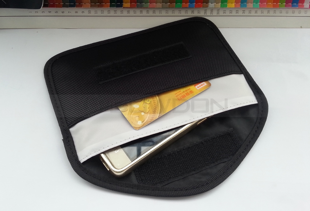 Anti-radiation Bag Pouch Radiation Interferen Shield Bag for iPhone Cell Phone No Singal Shielding Bag
