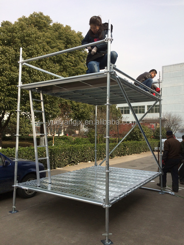 Ringlock Scaffolding Tower With Top Quality