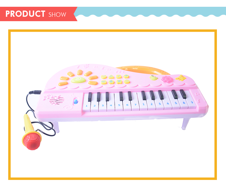 plastic popular high quality children electric organ with low price