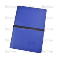 Promotional notebook with pu cover embossed diary