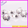 Machine cut glass point back rhinestone crystal