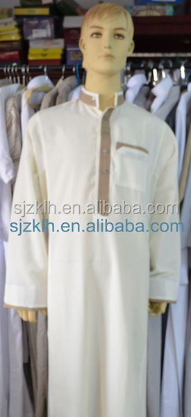 Fashion arabic thobe jubba for men /saudi thobe for men/saudi thobe