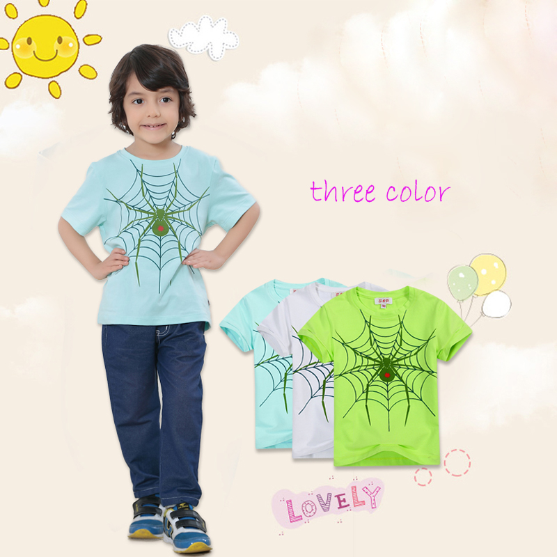 Summer hot sale children's boutique clothes kids summer shirt boys fancy t-shirt