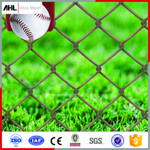Factory Hot Sale Diamond Wire Mesh PVC Chain Link Netting Roll Chain Link Fence Fabric For Garden Park Security
