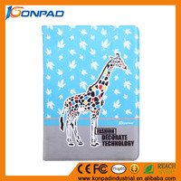 support lovely kids case for Ipad 2 3 4 cover,hold stander for ipad shell,soft touching case