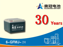 Rechargeable Deep-Cycle UPS AGM Gel Power Lead-Acid Battery 12V 24ah Gel Electric solar street light Battery