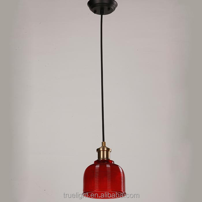 Glass Pendant Lamp For Shop Decor E271 Modern Hanging