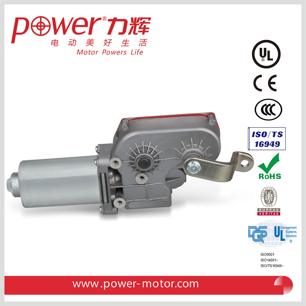Wiper motor in automobile