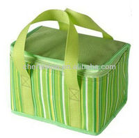 Stripe Promotion Cooler Ice Pack with handles