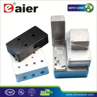 DAIER custom aluminum extruded project box