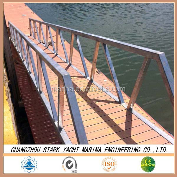 high performance aluminium alloy gangway & boat ladder price aluminum step ladder