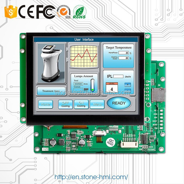 8 inch TFT display with digital board industrial panel led backlight lcd monitor