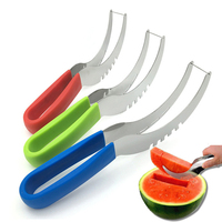 ZOGIFT Stainless Steel Kitchen Cutter Tool Fruit Cutter / Watermelon vegetable and fruit slicer