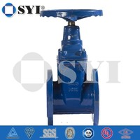 Flanged End Gate Valve Non-rising Stem DIN3352 F4