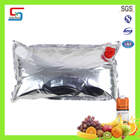 High quality 10L orange jams olive oil packing bag in box 22L OEM MOQ