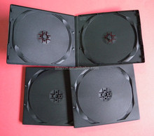 shantou black double/single half size 10mm pp dvd cases