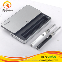 Cig Gallery new product Emili starter kit custom disposable vaporizer pen with 1300mah charge case